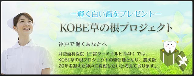 井堂歯科医院|KOBE草の根プロジェクト